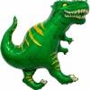 Шар фольгированный Фигура Динозавр Тираннозавр Зеленый