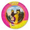 Тарелка бум Маша и Медведь 17см