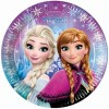 Тарелка Frozen Северное сияние 23см, 8шт