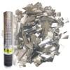 хлопушка серебро 60см