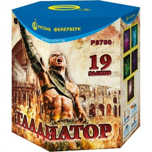 "Батарея салютов ""Гладиатор"""