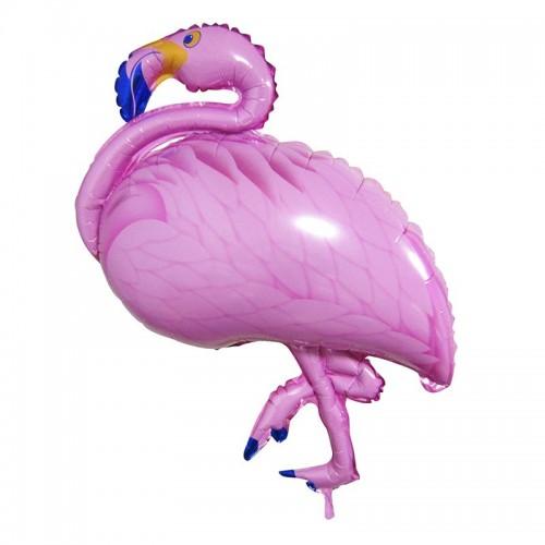 """Шар фольгированный фигура Фламинго 41"""""""