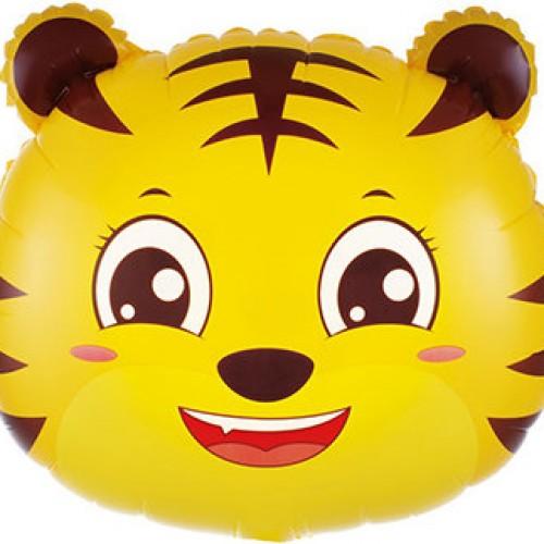 Шар Фигура Голова Маленький Тигр 19''