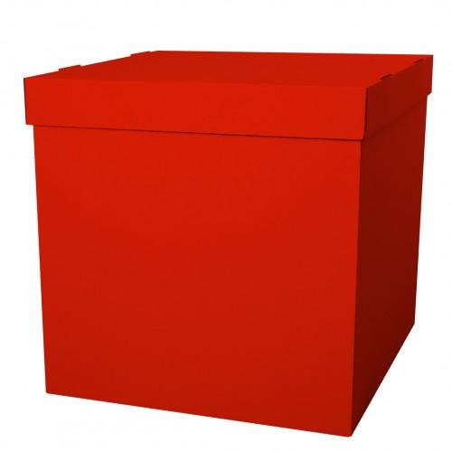 """Коробка для возудшных шаров """"Красный"""""""