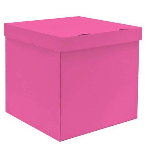 """Коробка для воздушных шаров """"Розовый"""""""