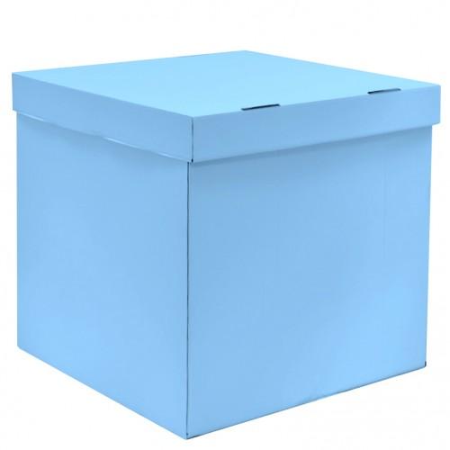 """Коробка для воздушных шаров """"Голубой"""""""