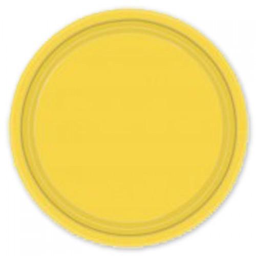 Тарелка Yellow Sunshine 17см