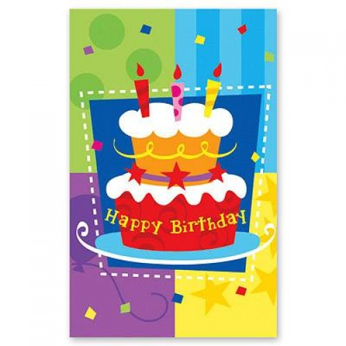 Скатерть Торт Birthday 140*180см
