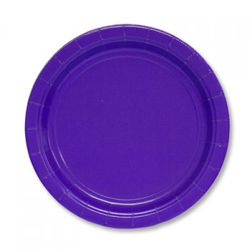 Тарелка Purple 17см, 8шт