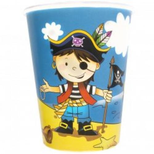 Стакан маленький пират
