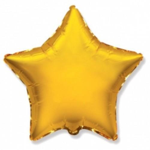 Шар звезда Голд