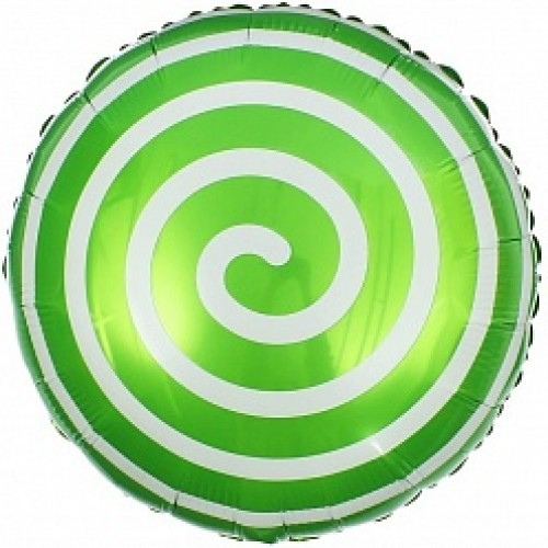 Леденец зеленый