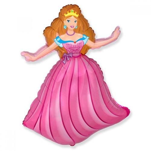 Шар фольга Принцесса
