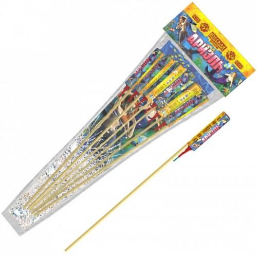 Ариэль набор ракет со свистом