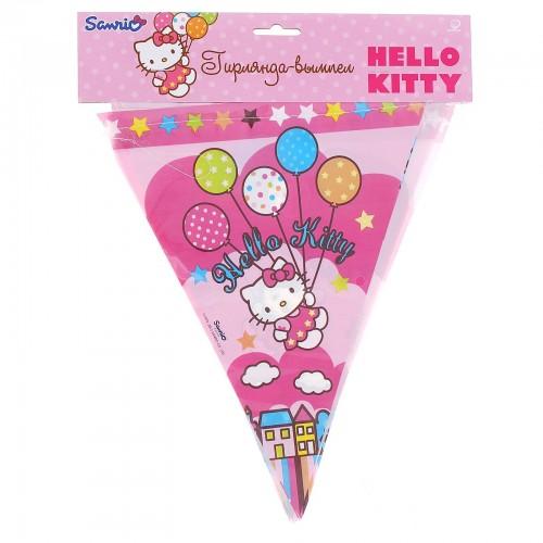 Гирлянда-Вымпел Hello Kitty