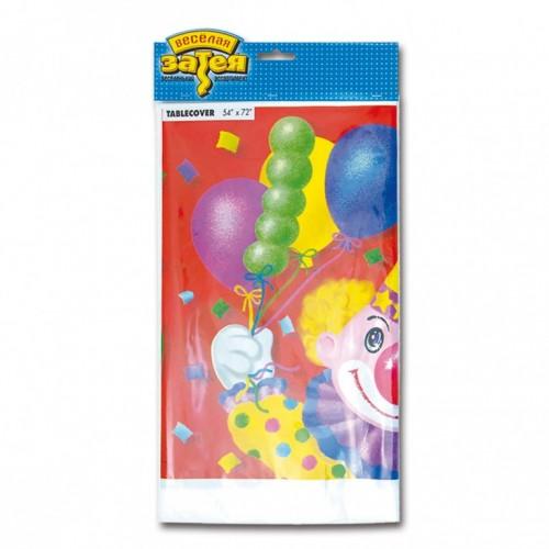Скатерть Клоун с шарами