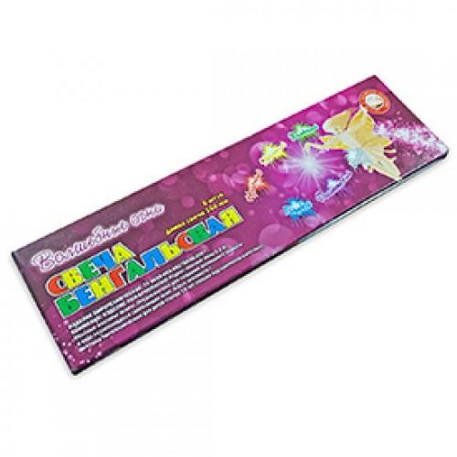 """Бенгальские свечи 160 """"Волшебные огни"""" цветные"""