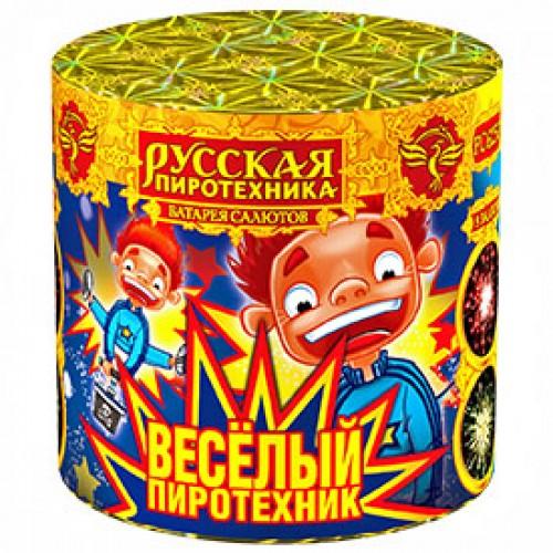 """Батарея салютов """"Веселый пиротехник"""""""